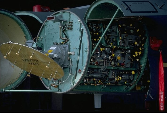 AESA radar system assembly